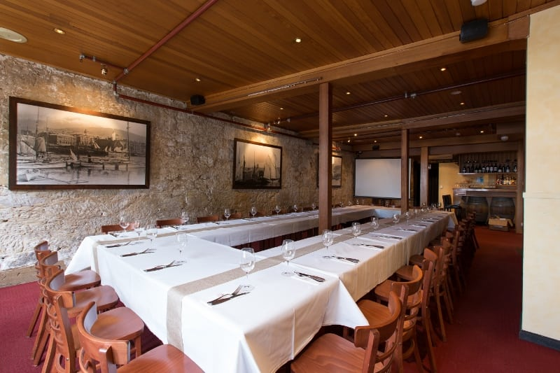 Function Room of locally sourced steakhouse Tasmania